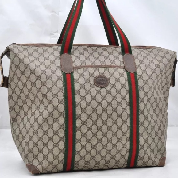 b4736a54007d Gucci Handbags - Authentic Gucci Jumbo Travel bag  oversized tote